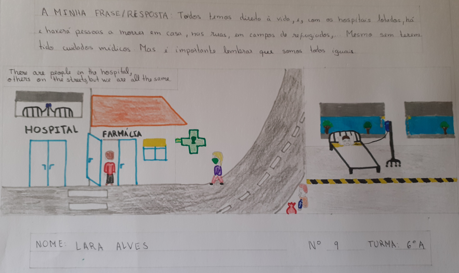 Lara Alves, EB 2/3 S Pedro Ferreiro, Ferreira do Zêzere