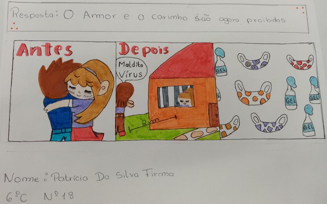 Patrícia Firmo, EB 2/3 S Pedro Ferreiro, Ferreira do Zêzere